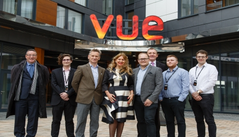 Councillor Kim Botting opens Vue in Bromley