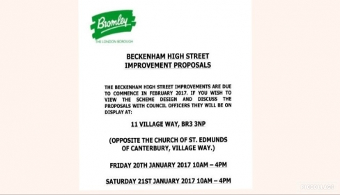Beckenham high street improvements – Have your say