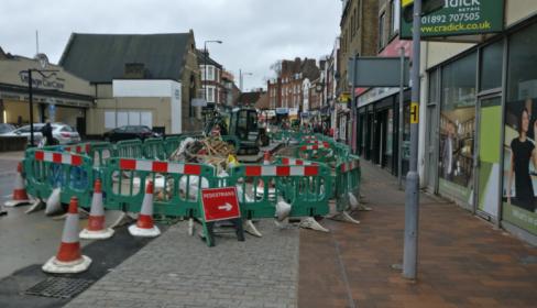 Beckenham Improvements work update 6 Aug 2018