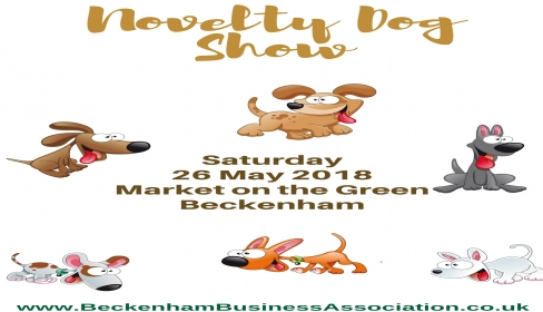 Novelty Dog show - market in the Green