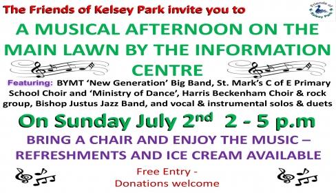 Kelsey park music festival