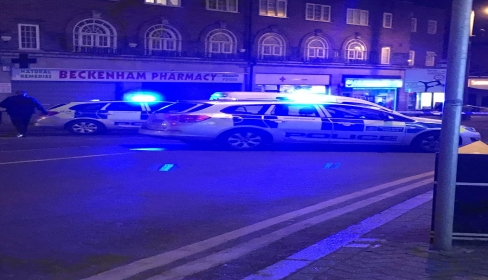 Stabbing on Beckenham High Street