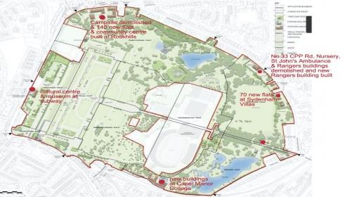 COUNCIL DECIDE £40M CRYSTAL PALACE PARK REGENERATION SCHEME THIS WEEK, MARCH 2021