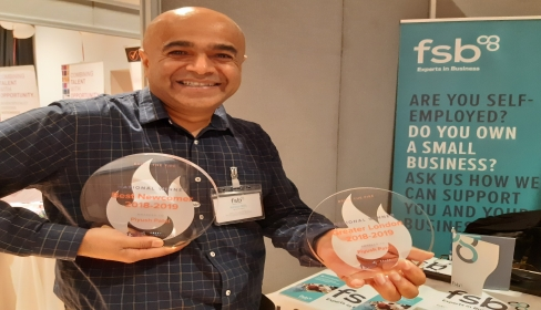 Local businessman named London's No 1 at FSB Sales Awards
