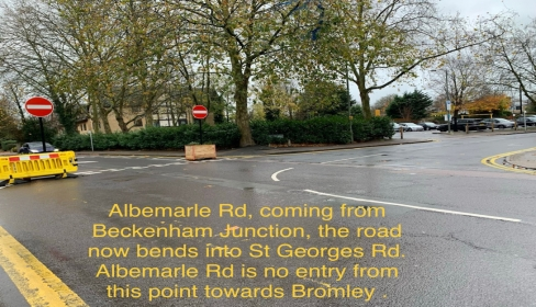 Albemarle Road Site Visit Thurs 19 Nov 2020