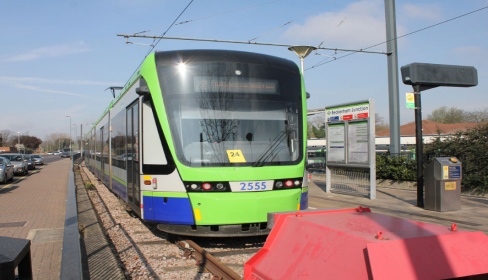 Temporary changes to trams and some bus routes 23 August-1 September 2019