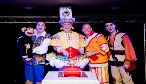 Aladdin cast lands in Bromley