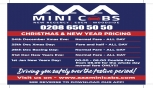 Christmas & New Year Pricing From AAA Minicabs