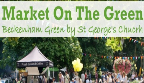 Market On The Green 10am to 4pm Sat 25 May, Beckenham Green